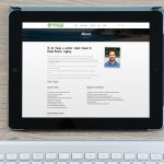 Exercise Your Career on ipad display