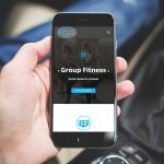 Responsive website on mobile display