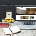 Sauna & Steam SA website on laptop display