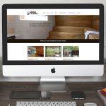 Sauna & Steam SA website on desktop display