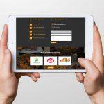Butch's Smallgoods website on ipad display